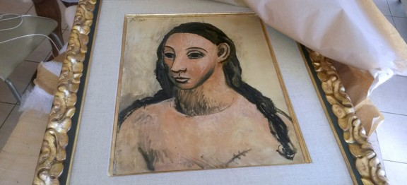 """Puntualizaciones sobre la aprehensión del cuadro """"Cabeza de mujer joven"""" de Pablo Picasso, propiedad del financiero Jaime Botín"""